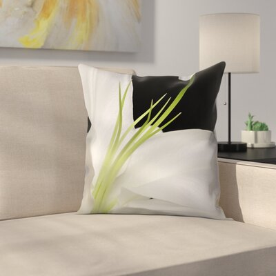 Maja Hrnjak Lily3 Throw Pillow Size: 18 x 18