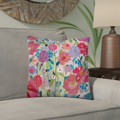 Edelman Adventures on the Garden Path Throw Pillow