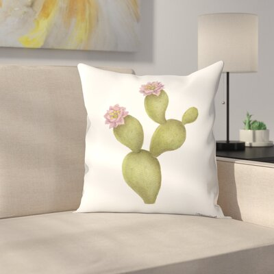 Prickly Pear1 Throw Pillow Size: 14 x 14