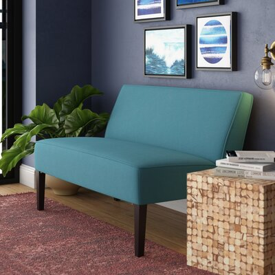 Allen Park Fabric Loveseat Upholstery: Dark Teal