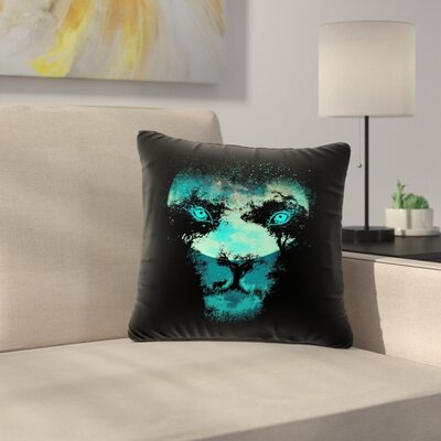 Digital Carbine Silence Hunter Animals Outdoor Throw Pillow Size: 18 H x 18 W x 5 D