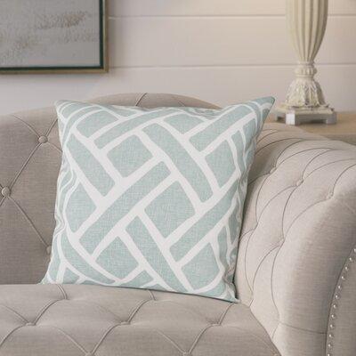 Berumen 100% Cotton Pillow Cover Color: Aqua