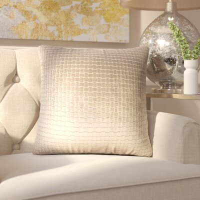 Vadim Solid Down Filled Throw Pillow Size: 24 x 24, Color: Dark Brown