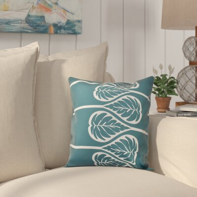 Hilde 2 Print Throw Pillow Size: 20 H x 20 W, Color: Teal