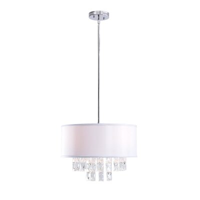 Filton 3-Light Drum Pendant
