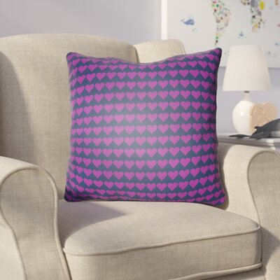 Colinda Square Throw Pillow Size: 20 H x 20 W x 4 D, Color: Purple
