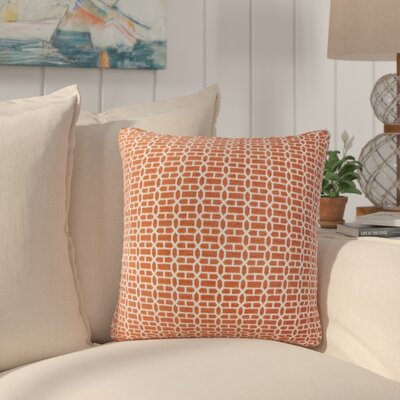 Packer Geometric Throw Pillow