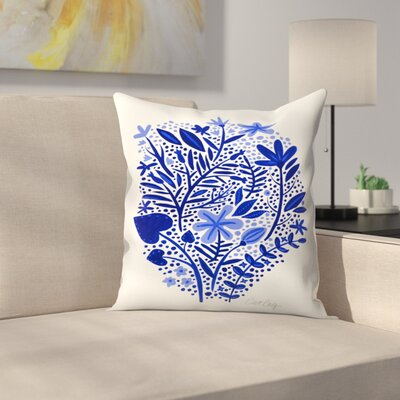 Garden Throw Pillow Size: 18 x 18