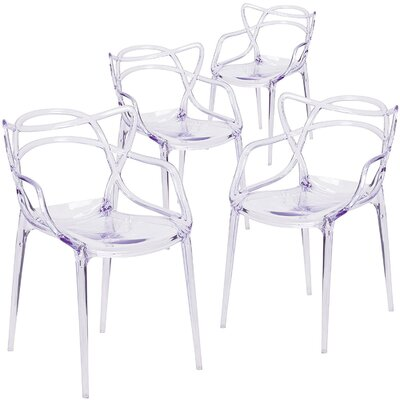 Farina Armchair Color: Clear