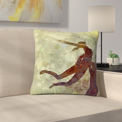 AlyZen Moonshadow Lift Outdoor Throw Pillow Size: 18 H x 18 W x 5 D