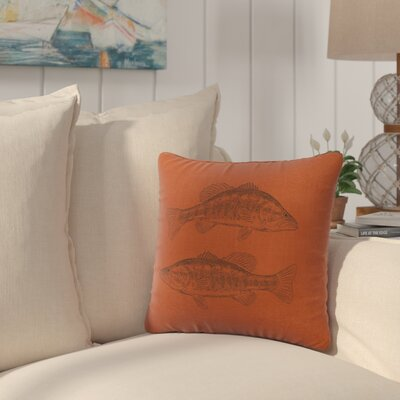 Eanes Throw Pillow Color: Paprika