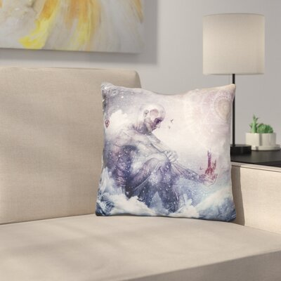 Awake in a Silver Land Throw Pillow