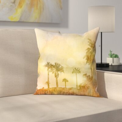 Oasis Throw Pillow Size: 14 x 14