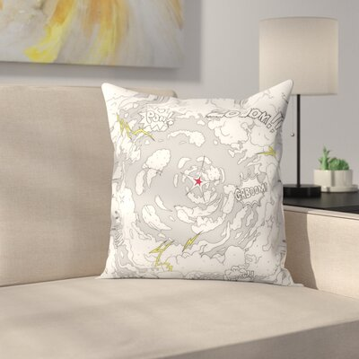 Kasi Minami War Throw Pillow Size: 14 x 14