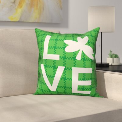 Hutson Plaid Love Throw Pillow