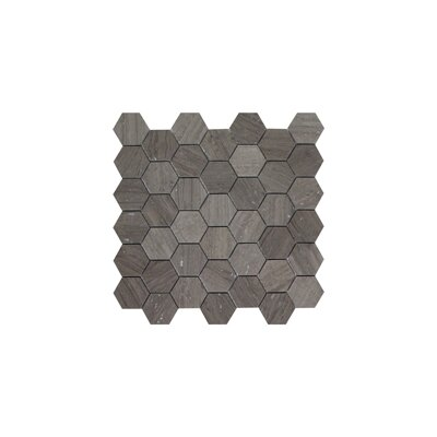 Milano 2 x 2 Marble Mosaic Tile in Gray