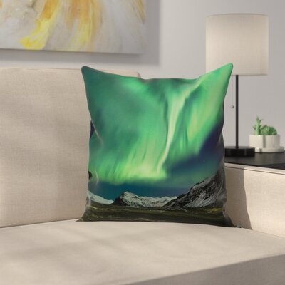 Mountain Pillow Cover Size: 24 x 24