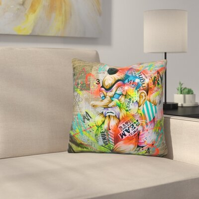 Tengu Throw Pillow