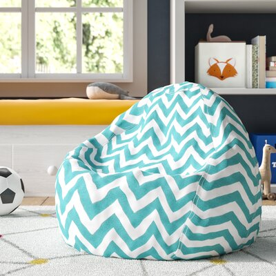 Aspen Bean Bag Chair Upholstery: Teal
