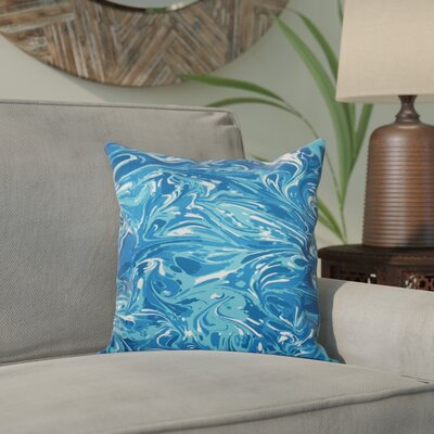 Willa M�lange Geometric Print Throw Pillow Size: 20 H x 20 W, Color: Turquoise