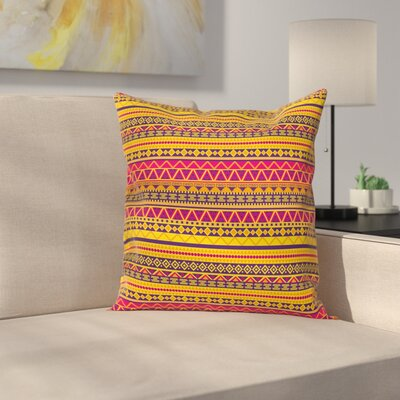 Tribal Pillow Cover Size: 20 x 20