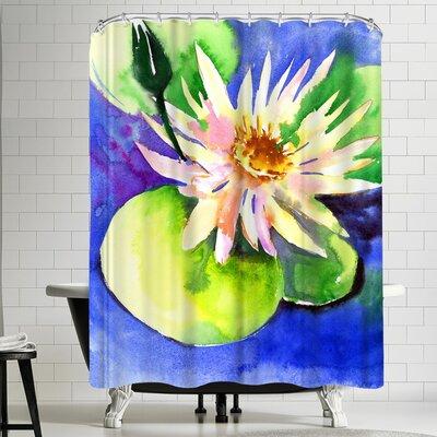 Suren Nersisyan Lotus Shower Curtain