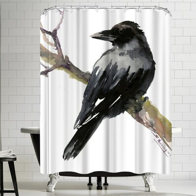 Suren Nersisyan Raven Shower Curtain