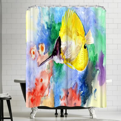 Suren Nersisyan Coral Reef Fish Shower Curtain