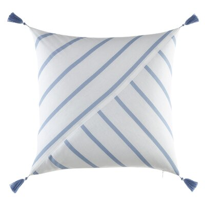 Norwich Pieced Tassel Cotton Throw Pillow