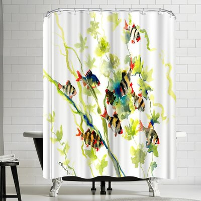 Suren Nersisyan Tiger Barb Shower Curtain