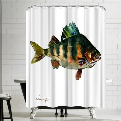 Suren Nersisyan Bass Fish Shower Curtain