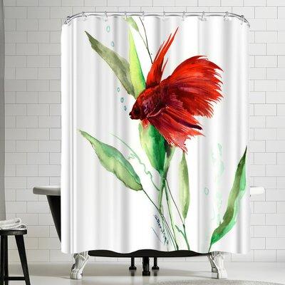 Suren Nersisyan Betta Shower Curtain
