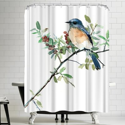 Solveig Studio Bluebird Shower Curtain