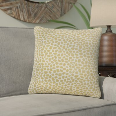 Quintin Geometric Throw Pillow Color: Sand