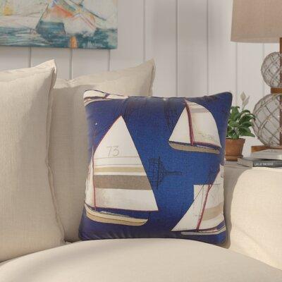 Jeffries Nautical Cotton Throw Pillow