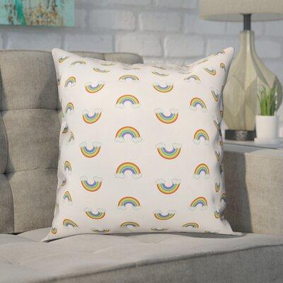 Bice Rainbow Pattern Throw Pillow