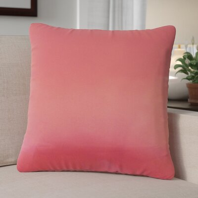 Cadenville Solid Down Filled 100% Cotton Throw Pillow Size: 18 x 18