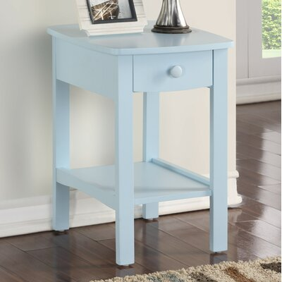 Howser Nightstand Color: Blue