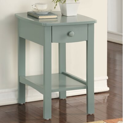 Howser Nightstand Color: Green