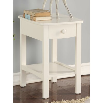 Howser Nightstand Color: White