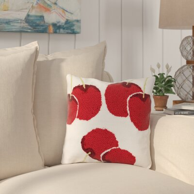Herriott Cherry Throw Pillow
