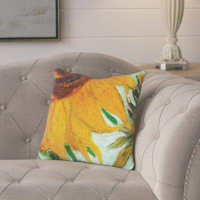 Cilley Twelve Sunflowers Throw Pillow