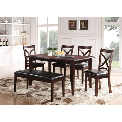 Hohl 6 Piece Dining Set