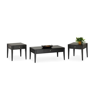 Erhart 3 Piece Coffee Table Set