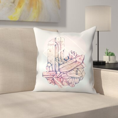 Crystalline 2 Throw Pillow Size: 18 x 18