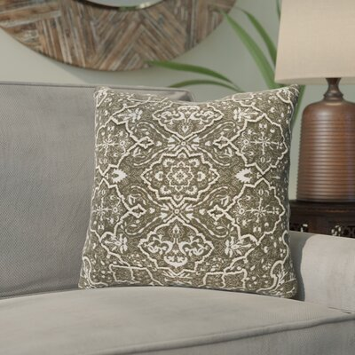 Chiranjeevi Throw Pillow Color: Brown