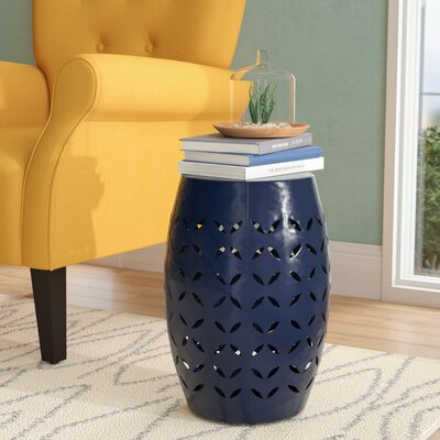 Patchen Accent End Table Color: Dark Blue