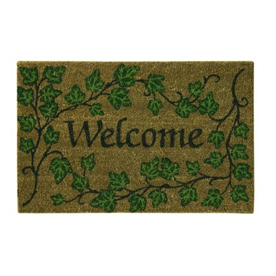 Koko Natural English Ivory Welcome Doormat