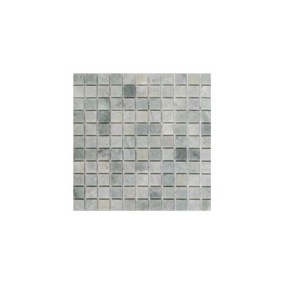 Ming 1 x 1 Marble Mosaic Tile in Green
