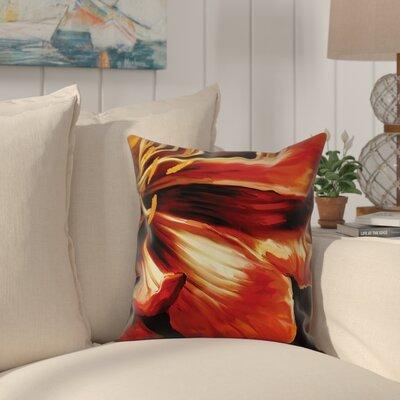 Bluecoast Chrysthamum Floral Detail Throw Pillow